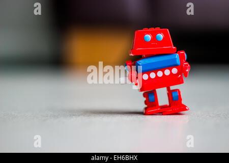 Robot jouet Banque D'Images