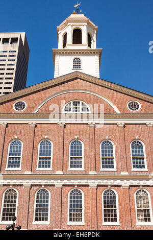 Faneuil Hall, Boston, Massachusetts, USA Banque D'Images