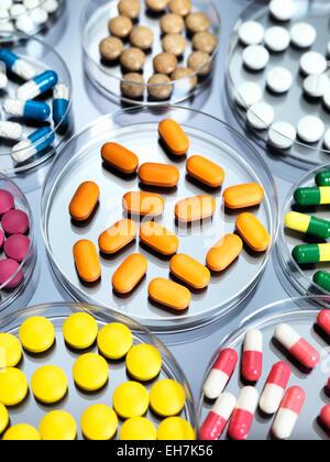 La recherche pharmaceutique Banque D'Images