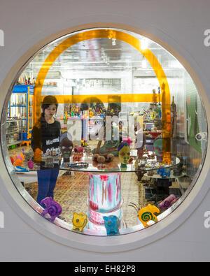 Galerie Wa Concept Store, Siem Reap, Cambodge, Indochine, Asie du Sud-Est, l'Asie Banque D'Images