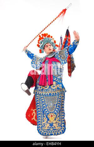 Artistes interprètes ou exécutants dans l'opéra mâle jouer des tours Banque D'Images