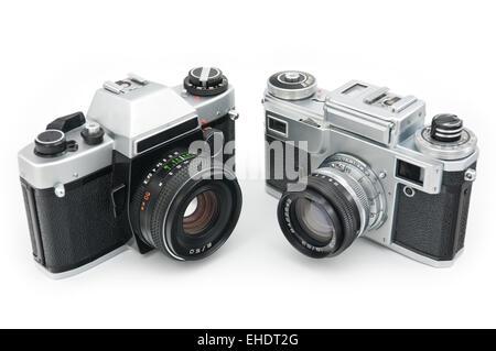 appareils photo à pellicule Banque D'Images