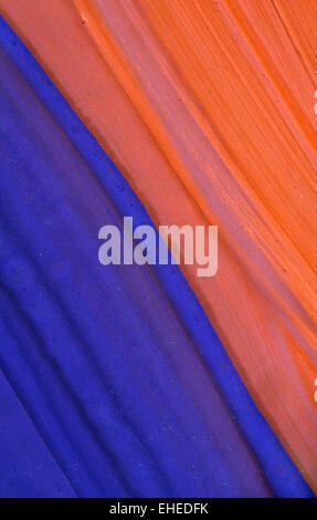 La peinture abstraite swatch Banque D'Images