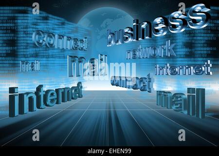 Concept internet Banque D'Images
