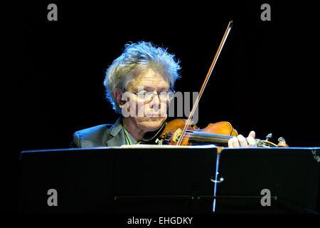 BARCELONA - 31 MAI: Kronos Quartet (Quatuor à cordes américain), concert au Primavera Sound Festival 2014 Heineken. Banque D'Images
