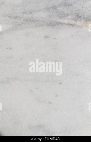 Motif de fond texture marbre blanc, haut close up Banque D'Images