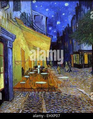Cafe Terrasse De Nuit Place Du Forum A Arles Huile Sur Toile