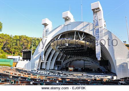 Le Hollywood Bowl Amphitheatre à Los Angeles, Californie, États-Unis. Banque D'Images