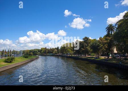 River Tigre. Buenos Aires, Argentine. Banque D'Images