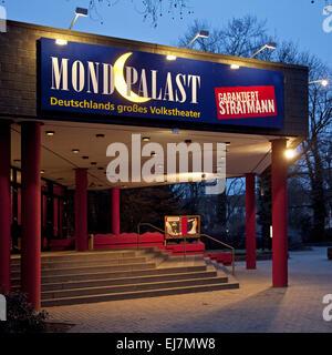 Théâtre populaire du Moon Palace, Herne, Allemagne Banque D'Images