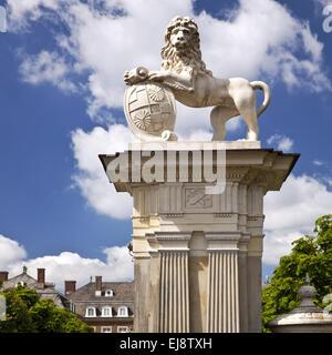Lion sculpture, Allemagne, Palais Nordkirchen