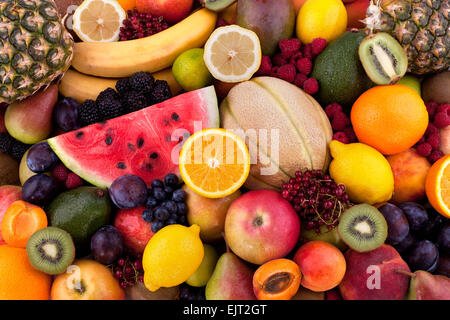 Fruits et baies Banque D'Images
