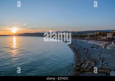 Ville de Nice Banque D'Images
