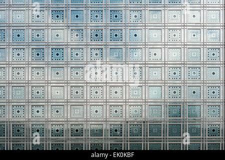 France, Paris, Institut du monde arabe, conçu par Jean Nouvel Banque D'Images