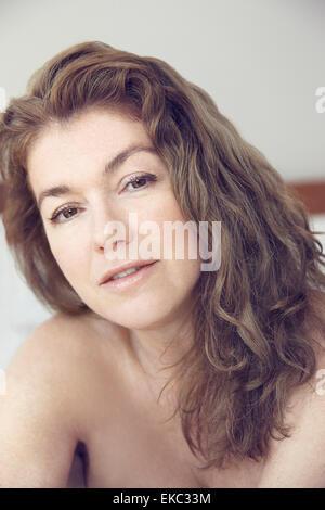 Portrait of young woman Banque D'Images