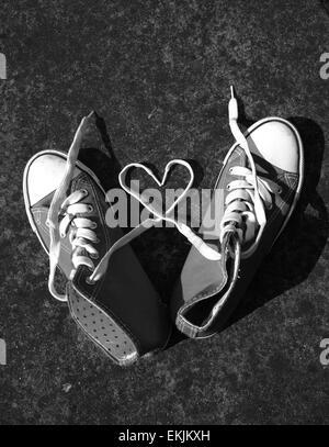 Bottes ball d'amour à chaussures Coeur lacets Baseball Basket tgwT7xFaq