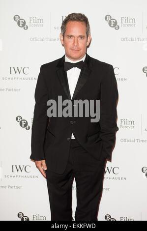 IWC Schaffhausen et BFI London Film Festival - un dîner privé organisé au Battersea Evolution - Arrivées. Avec: Banque D'Images