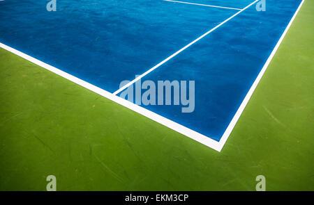 Court de tennis à proximité de l'arrière-plan Banque D'Images