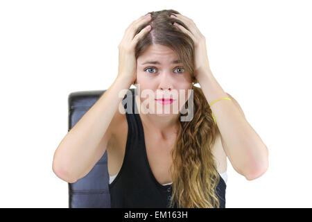 Stress! Banque D'Images