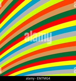 rayures colorées Banque D'Images