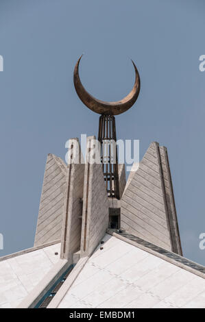 Cheikh Faisal Mosque ; Islamabad Banque D'Images