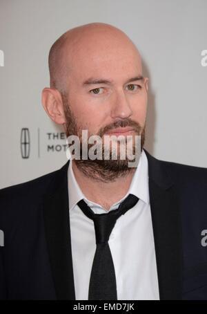 New York, USA. Apr 19, 2015. Ben Palmer aux arrivées pour l'homme jusqu'en première mondiale au Festival du film Banque D'Images