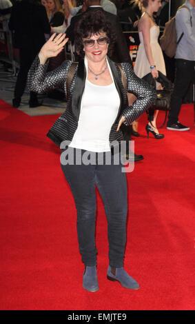 """BFI London Film Festival - """"un peu de chaos"""" - Projection de Gala l'amour à l'odéon West End comprend: Ruby Wax Banque D'Images"""