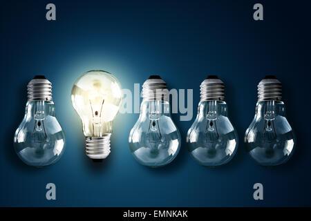 La créativité et l'innovation Banque D'Images