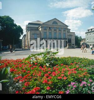 Eine Reise nach Weimar, 1980 DDR er Jahre. Un voyage à Weimar, le DDR des années 1980. Banque D'Images