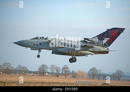 Tornado Gr4 ZA 942 de 617 Sqn RAF Lossiemouth célèbre Dam Busters Suadron de WW2. 9706 SCO Banque D'Images