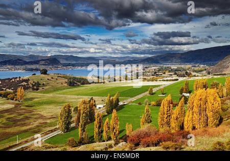 Lake Wanaka, vue depuis le mont Roys, île du Sud, Nouvelle-Zélande