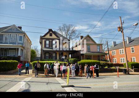 Atlanta en Georga USA 'Voici', Martin Luther King, Jr., Lieu historique national, Martin Luther King Jr., Lieu historique national