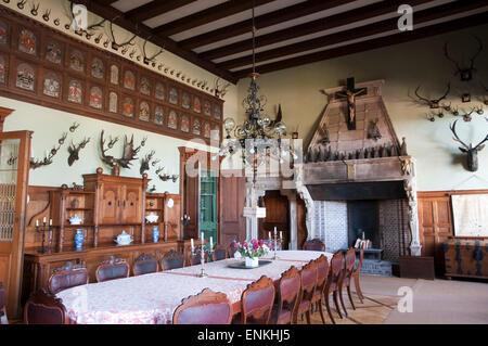 Schloss Haemelschenburg, Weserbergland, Basse-Saxe, Allemagne