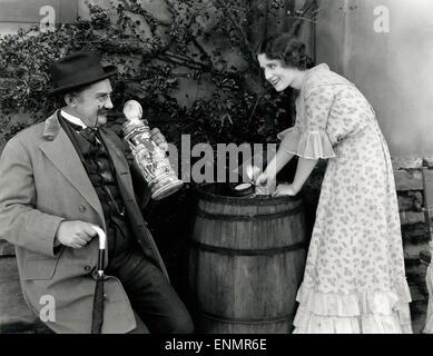 L'élève dans l'ancien Heidelberg, USA 1927, aka: Alt Heidelberg, Regie: Ernst Lubitsch, Dasreteller: Norma Shearer, Banque D'Images