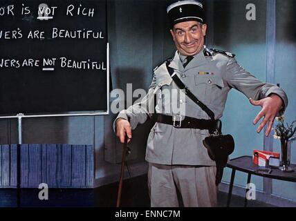 Le gendarme a New York, Frankreich, 1965 aka: Der Gendarm à New York, alias: Der Gendarm vom Broadway, aka: Der Banque D'Images