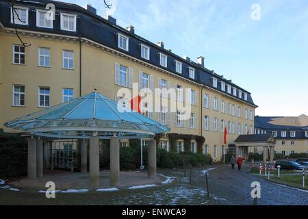 Grand Hotel Steigenberger Petersberg auf im Siebengebirge, Gaestehaus der Bundesregierung, Bonn am Rhein Banque D'Images