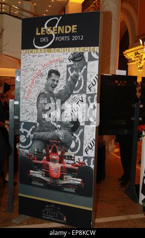 Sportpresseball - Français Sports Media Ball 2014 tenue à l'Alte Oper Où: Francfort, Allemagne Quand: 09 novembre Banque D'Images