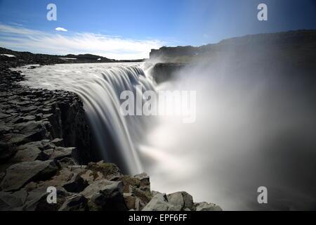 Icland Vatnaj├╢Dettifoss kull National Park Banque D'Images