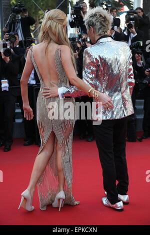 Cannes: Paris Hilton avec Sun ami Zu Yang / Tapis Rouge / 68e Festival de Cannes / Festival de Cannes 2015/18.05,2015/photo Banque D'Images