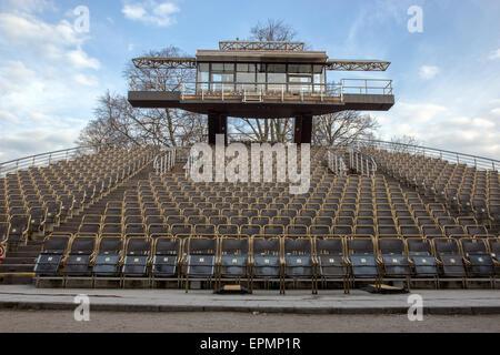 Le fonds renouvelable Theatre à Cesky Krumlov Banque D'Images