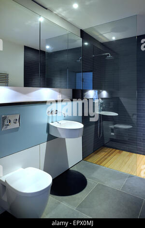 Chambre d''une salle de douche, rez-de-chaussée inférieur dans Tresithney, Cornwall, UK