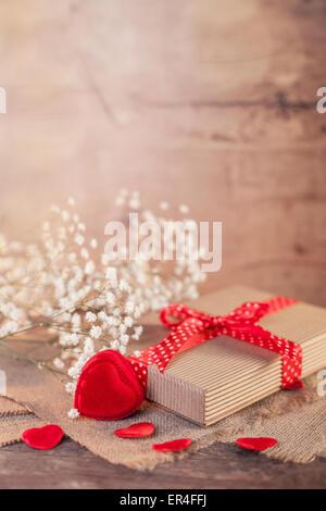 Valentines Day présent Banque D'Images