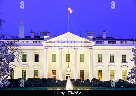 Washington, DC, à la Maison Blanche.
