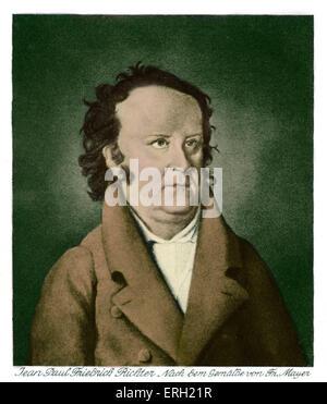Jean Paul (ou Johann Paul Friedrich Richter), poète allemand dont les œuvres ont inspiré Mahler, Schumann et d'autres compositeurs (1763-1825).