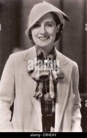 Norma Shearer - actrice américaine née au Canada. La star de cinéma cinéma muet. 10 août 1902- 12 juin 1983. Encore Banque D'Images