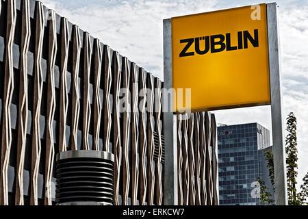 Züblin siège à Stuttgart, Bade-Wurtemberg, Allemagne Banque D'Images