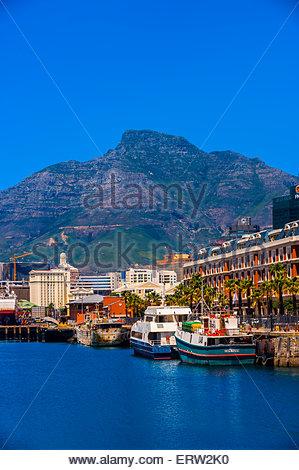 Cape Grace Hotel, Victoria & Alfred Waterfront, Cape Town, Afrique du Sud. Banque D'Images