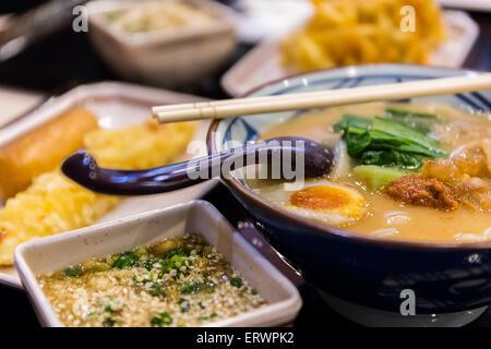 Ramen, nourriture Japonaise Banque D'Images