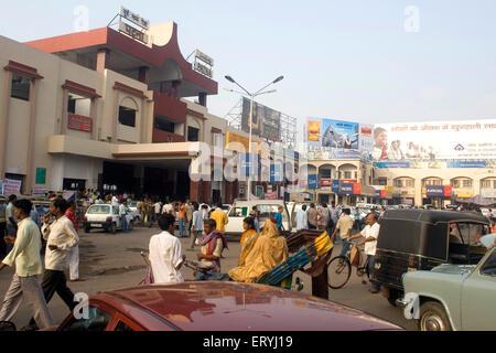 La gare de Patna Patna Bihar;;; l'Inde Banque D'Images