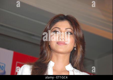 L'actrice Shilpa Shetty; Inde PAS DE MR Banque D'Images